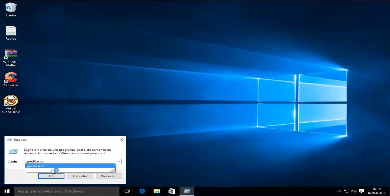 como bloquear programas no windows 7, 8 10